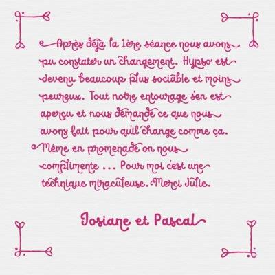 Feedback Josiane et Pascal FR